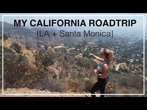 {Part 1} My California Roadtrip - LA, Santa Monica