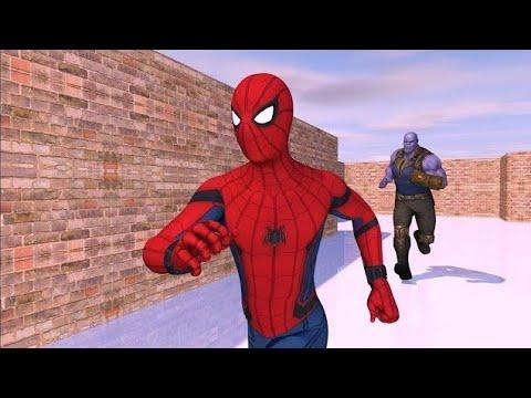 Thanos Vs Spiderman