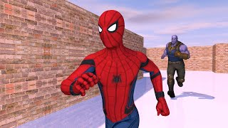 Thanos Vs Spiderman