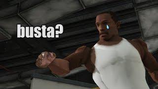 GTA San Andreas Myth - is CJ a busta?