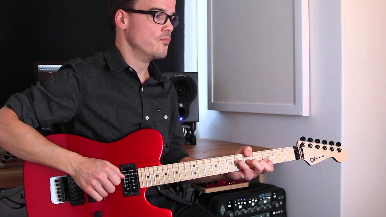Lesson Accompaniment: Neon intro lick - John Mayer - YouTube