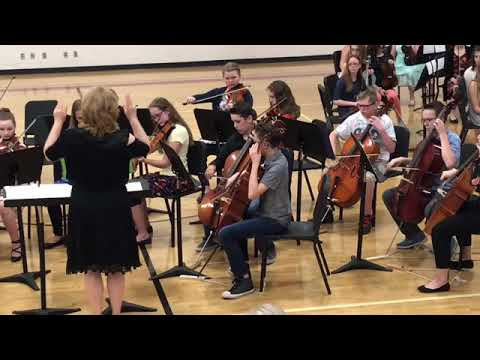 Lauren Boone Middle School Spring Orchestra Concert 5th Grade
