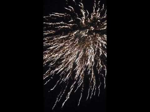 New Year night 2014 in Denmark, Randers City