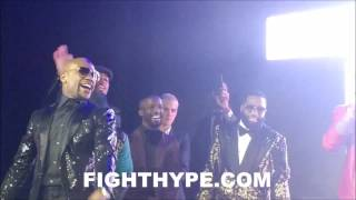 BOBBY BROWN RIPS THE STAGE TO DELIGHT OF MAYWEATHER, BIEBER AND BRONER AT 40TH BIRTHDAY GALA