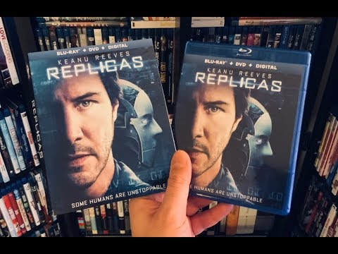 Replicas BLU RAY REVIEW + Unboxing - Keanu Reeves