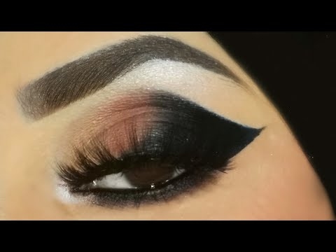 easy cat eye smokey eye makeup tutorial / inspiredan