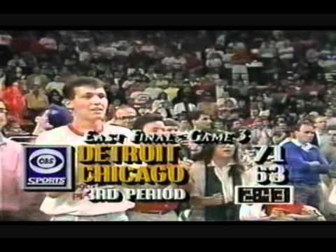 Chicago Bulls vs Detroit Pistons 90' Classic -(Michael Jordan vs.Isiah Thomas Duel)