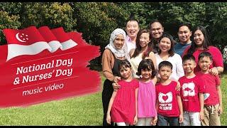 Nurses' tribute to Singapore