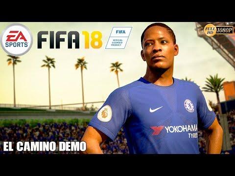 FIFA 18 - El Camino Demo Gameplay Español | El Modo Historia de Alex Hunter (Temporada 2)