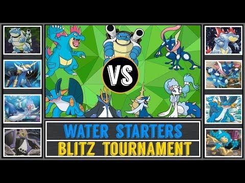 Water Starter Tournament (Pokémon Sun/Moon) - Blitz Torunament #2