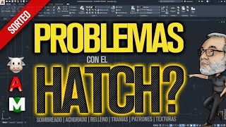 🗼🐄 AutoCAD HATCH Sombreado Achurados 30 SOLUCIONES y TIPS a problemas y errores TUTORIAL en español