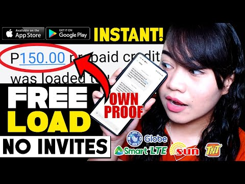 NO INVITE: Unlimited P150 FREE LOAD! INSTANT PAYOUT! Globe Smart Sun Tm | LEGIT APP: Android & iOS