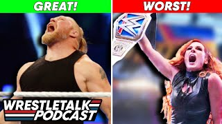 Brock Lesnar Return GOOD Becky Lynch Return BAD WWE Summerslam 2021 Review WrestleTalk Podcast
