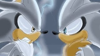 Silver the hedgehog vs Venice the hedgehog ( brother vs brother )