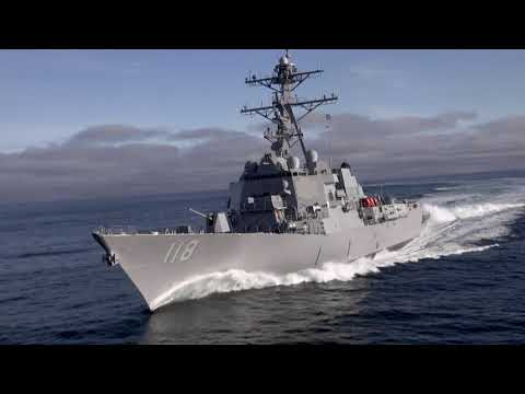Daniel Inouye (DDG 118) Sea Trials