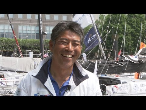 Sailing around the globe alone! Kojiro Shiraishi's challenge / Vendée Globeに挑戦!海洋冒険家 白石康次郎さん