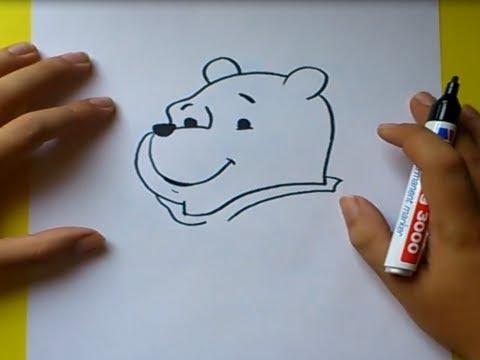 Como dibujar a Winnie the pooh paso a paso - Winnie the pooh | How ...