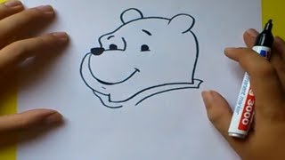 Como dibujar a Winnie the pooh paso a paso - Winnie the pooh | How to draw Winnie the pooh
