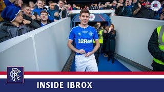 INSIDE IBROX | Gerrard In Blue For Gers