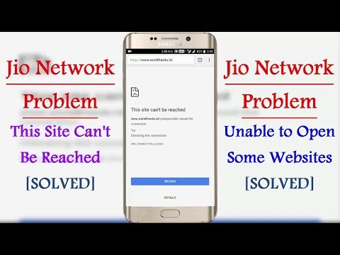 [Solved] Unable To Open Some Websites On Jio Network Problem