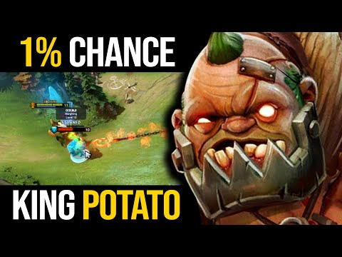 1% CHANCE OF ESCAPING FROM HIS HOOKS! Master Tier King Potato Pudge 200IQ HOOKS   Pudge Official
