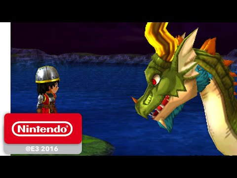 Dragon Quest VII: Fragments of the Forgotten Past - Official Game Trailer - Nintendo E3 2016