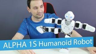 ubtech alpha 1s humanoid robot review intelligent robot