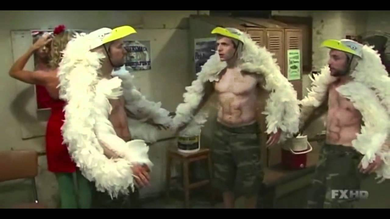 always sunny charlie takes steroids