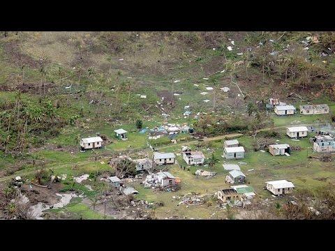 Les îles Fidji ravagées par le cyclone Winston: au moins 20 morts