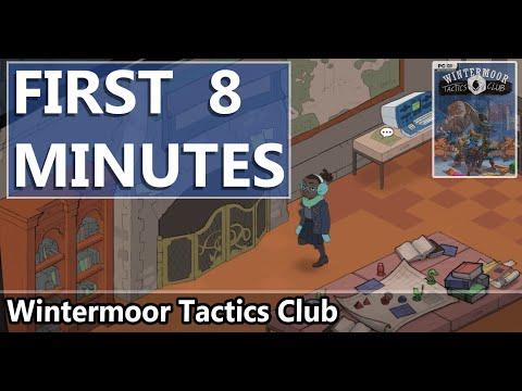 FIRST LOOK   Wintermoor Tactics Club   HD GAMEPLAY  