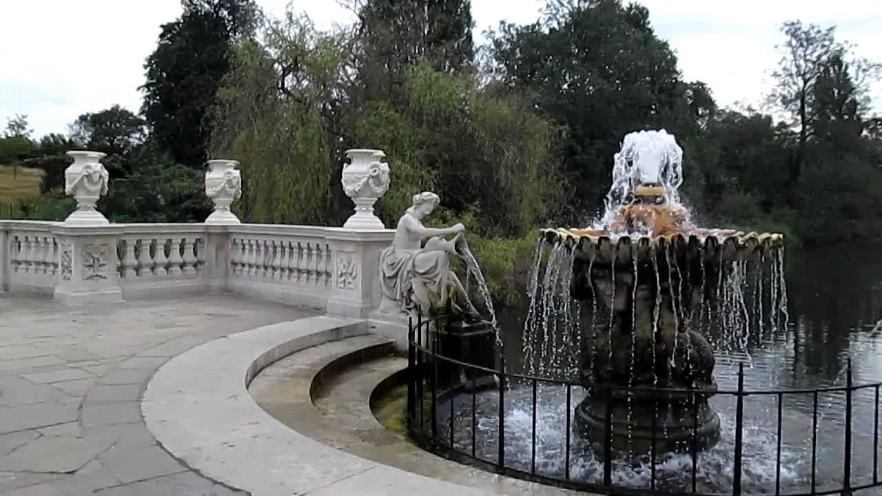 Hyde park italian gardens london jardin de los for Jardines italianos