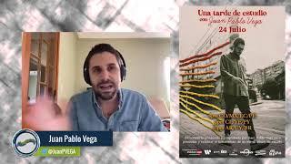Una tarde de estudio con Juan Pablo Vega