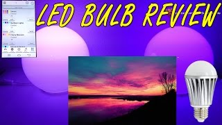 BEST Color Changing Bulb Review - Mood Light