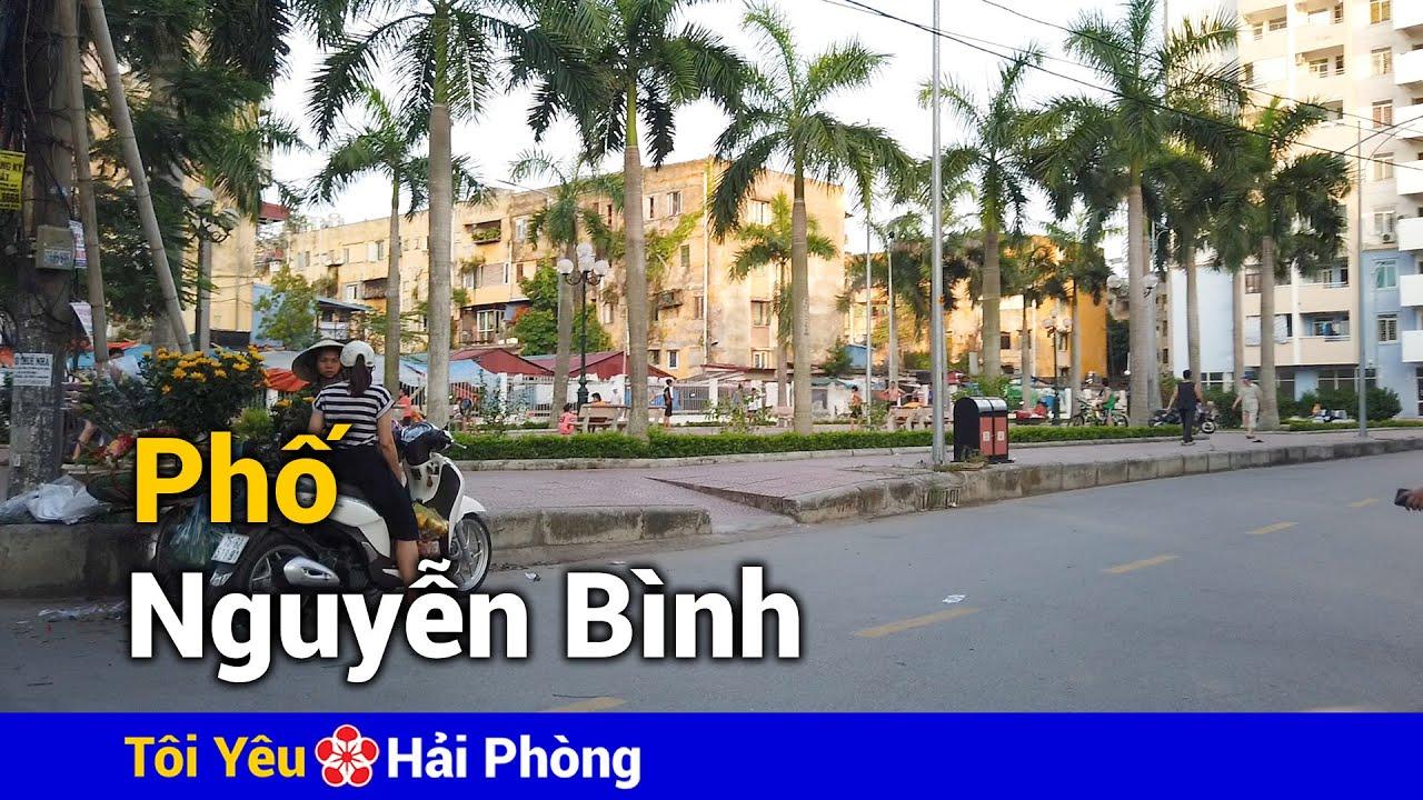 Phố Nguyễn Bình (Đổng Quốc Bình) ở Hải Phòng năm 2020