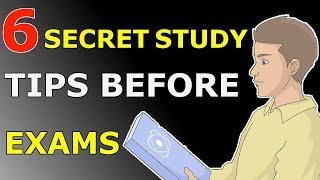 6 SECRET STUDY TIPS TO SCORE HIGHEST IN EXAMS | EXAMS से पहले पढ़ने के 6 तरीके