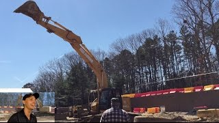 Operating an Excavator!!! thumbnail