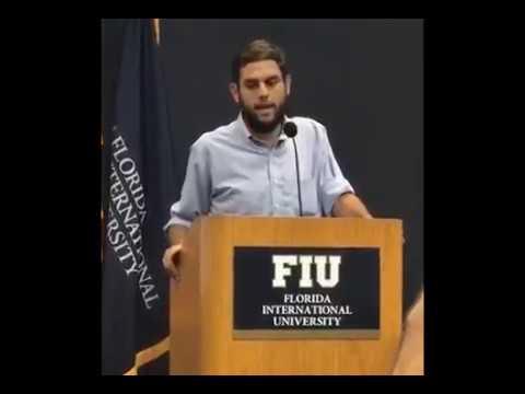 Discurso de Juan Requesens el 5 de Julio de 2017 en la Florida International University (FIU)