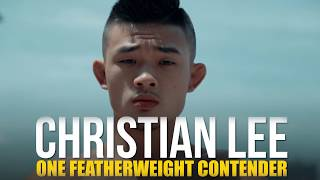 ONE Feature   Christian Lee Is Gunning For Gold