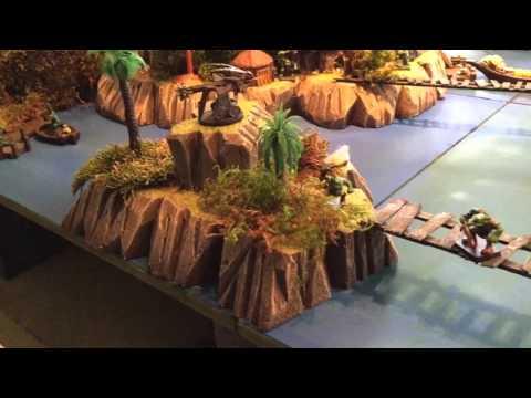 Shark Island, RPG 28mm Terrain, Undersea, Pirates, Dwarvenforge.info
