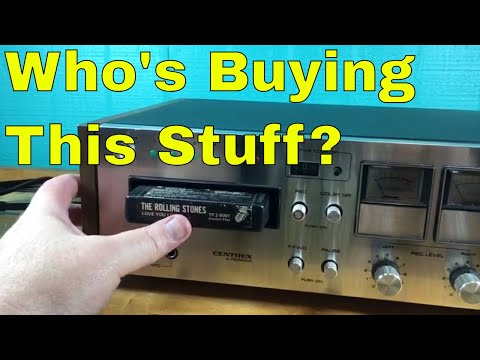 Promoted listings, shoes and an 8-track player