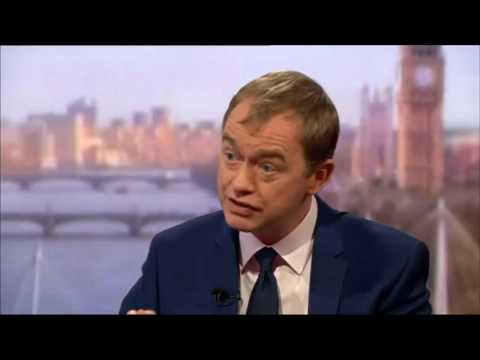 Tim Farron: Theresa May has no mandate to take Britain out of the single market