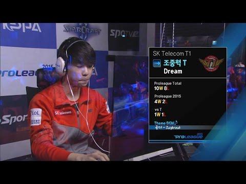 [SPL2015] Dream(SKT) vs BrAvO(Samsung) Set1 Vaani Research Station -EsportsTV, Starcraft 2
