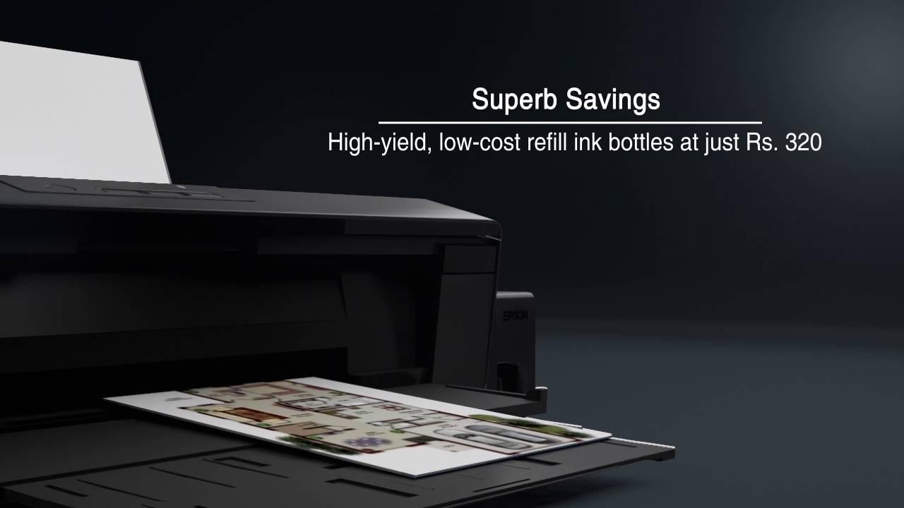 324d113b EPSON L1300 A3+ Printer - YouTube