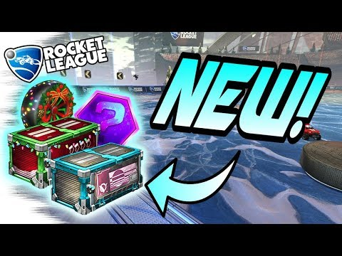 Rocket League Update: NEW CRATES LEAKED! + Items Inside - Update Crate/Christmas Crate (Opening) thumbnail