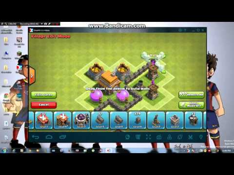 Clash of Clans - DEFENSE STRATEGY - Townhall Level 5 without wizard tower base layout