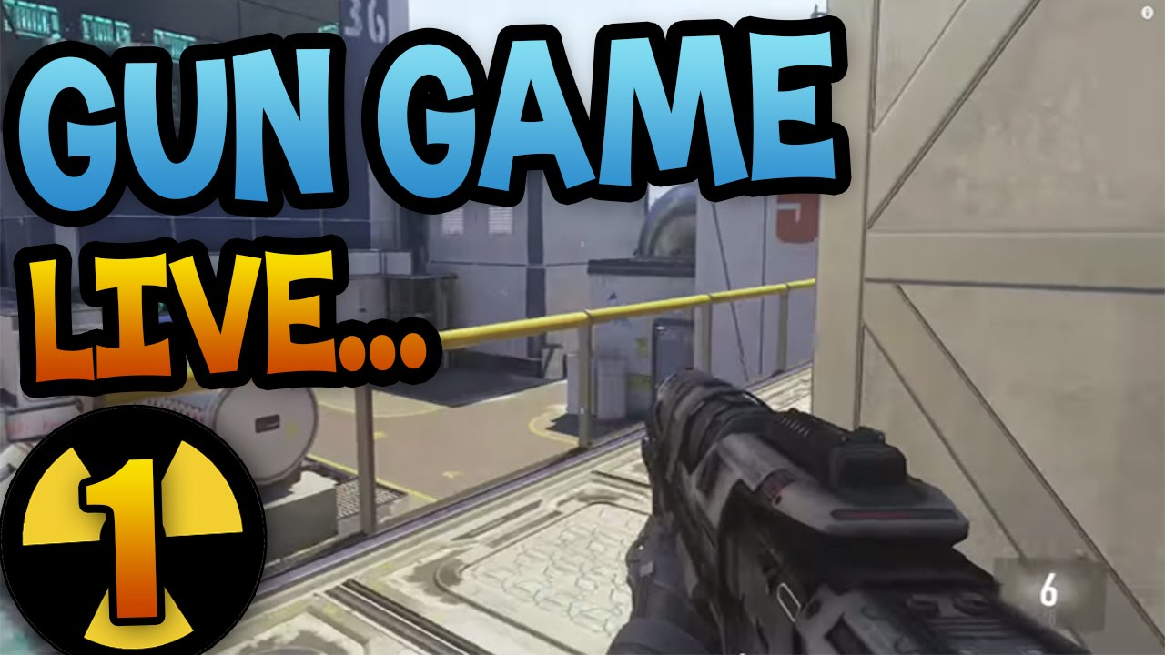 how to get gun game on advanced warfare offline