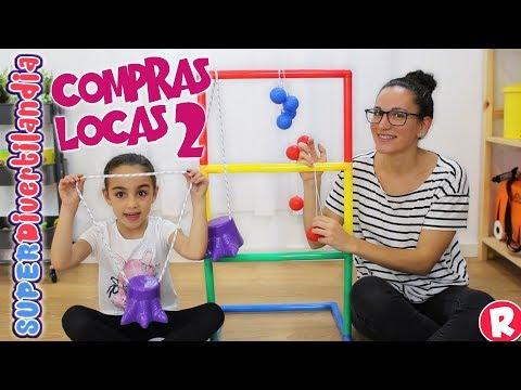 Compras Locas 2 en SUPERDivertilandia con Andrea y Raquel!