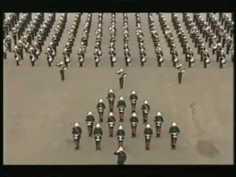 Royal Marine Band - Sunset