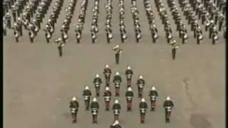 Royal Marine Band Sunset