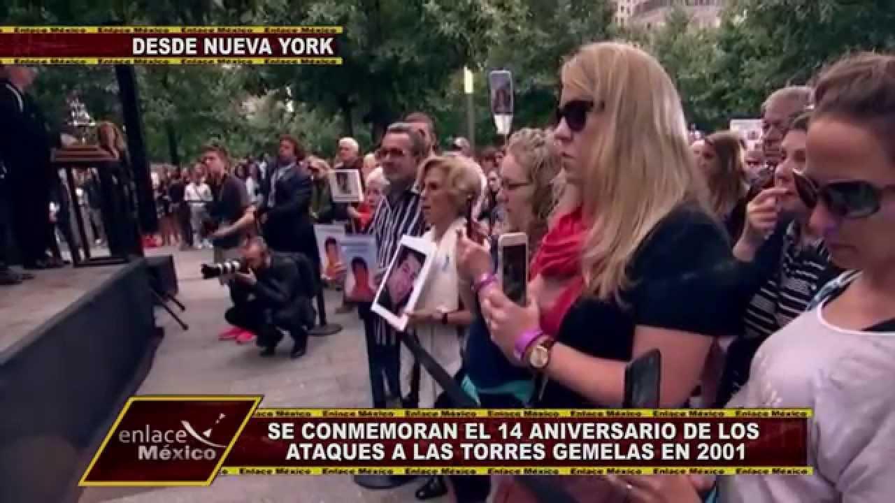 NUEVA YORK CONMEMORA 14 AÑOS DE LOS ATAQUES A LAS TORRES GEMELAS ...